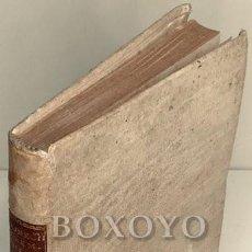 Libros antiguos: HEINECK, JOHANN GOTTLIEB. IO. GOTTLIEB HEINECCII ELEMENTA PHILOSOPHIAE RATIONALIS, ET MORALIS EX PRI. Lote 222876000