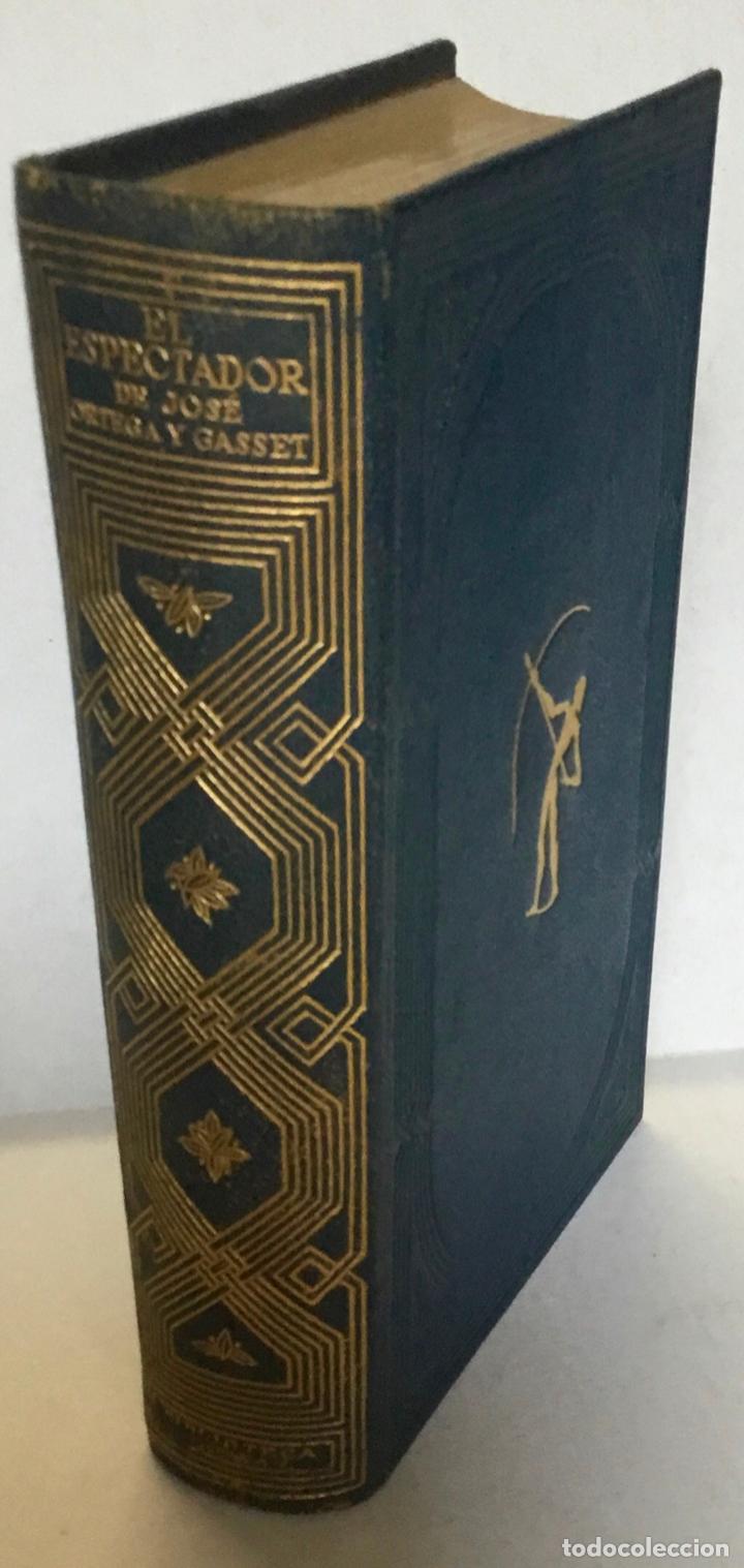 Libros antiguos: EL ESPECTADOR. - ORTEGA Y GASSET, José. - Foto 2 - 123225251