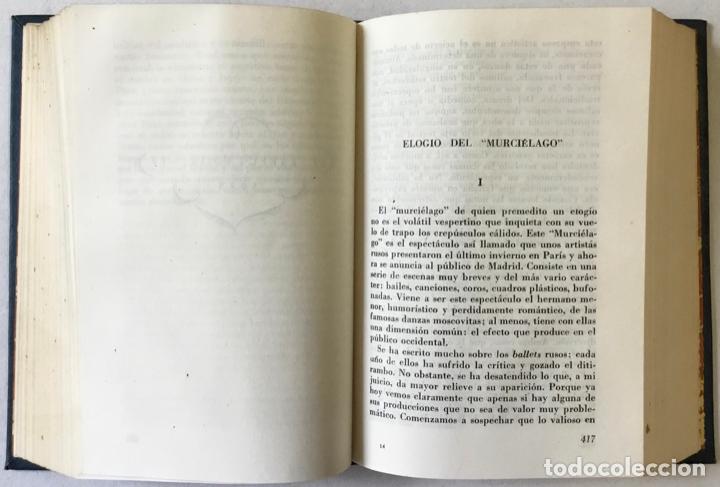 Libros antiguos: EL ESPECTADOR. - ORTEGA Y GASSET, José. - Foto 5 - 123225251