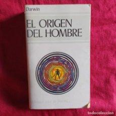 Libri antichi: EL ORIGEN DEL HOMBRE Y LA SELECCIÓN EN RELACIÓN AL SEXO - DARWIN, CHARLES. Lote 224651540