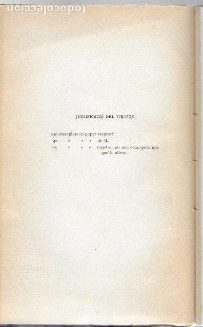 Libros antiguos: Utopia / Thomas Morus; 1a. trad. catalana J. Pin Soler. BCN : LAvenç, 1912. ex paper verjurat (250) - Foto 3 - 224727511