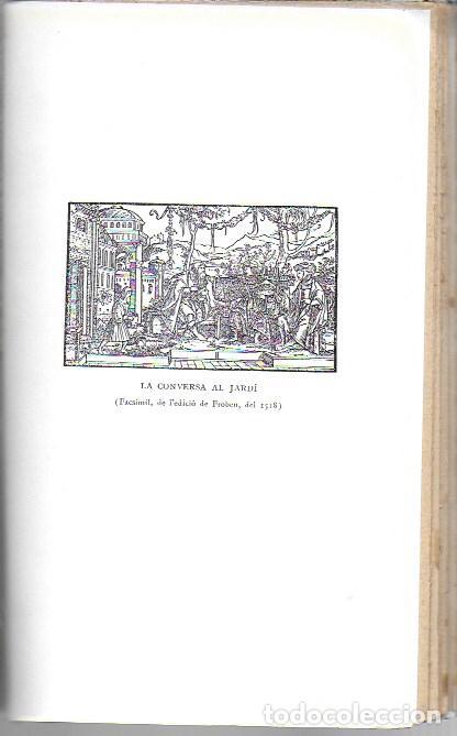 Libros antiguos: Utopia / Thomas Morus; 1a. trad. catalana J. Pin Soler. BCN : LAvenç, 1912. ex paper verjurat (250) - Foto 11 - 224727511