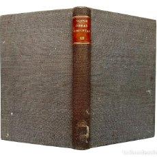 Libri antichi: 1883 - CICERÓN: DE LA NATURALEZA DE LOS DIOSES. DEL SUMO BIEN Y DEL SUMO MAL - FILOSOFÍA, ROMA. Lote 225986685