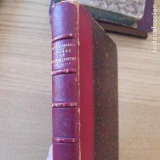 Libros antiguos: ETUDES SUR LES MORALISTES FRANÇAIS: SUIVIES DE QUELQUES RÉFLEXIONS SUR DIVERS SUJETS. 1885. Lote 226051135