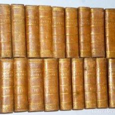 Libros antiguos: OBRAS DE CICERÓN. 18 TOMOS.(1823-1825). Lote 226404221