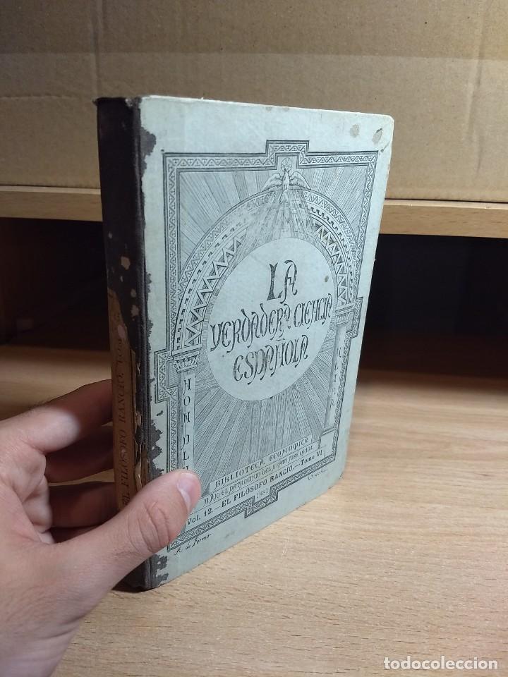 CARTAS CRÍTICAS QUE ESCRIBIÓ EL FILÓSOFO RANCIO - FRANCISCO ALVARADO DE LA ÓRDEN (TOMO VI, 1881) (Libros Antiguos, Raros y Curiosos - Pensamiento - Filosofía)