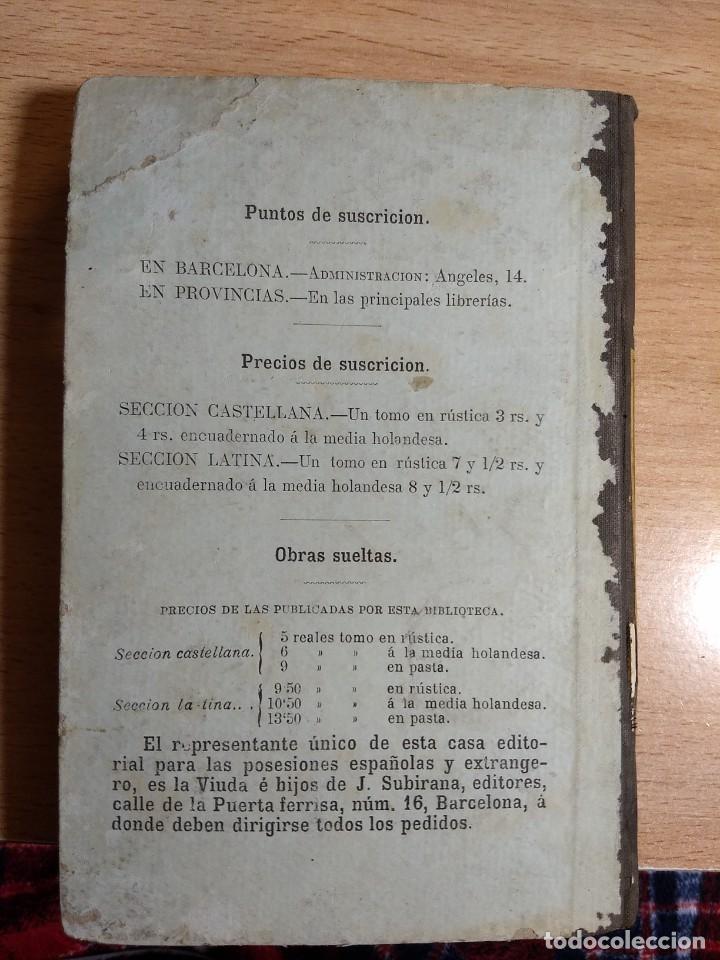 Libros antiguos: CARTAS CRÍTICAS QUE ESCRIBIÓ EL FILÓSOFO RANCIO - FRANCISCO ALVARADO DE LA ÓRDEN (TOMO VI, 1881) - Foto 6 - 227104680