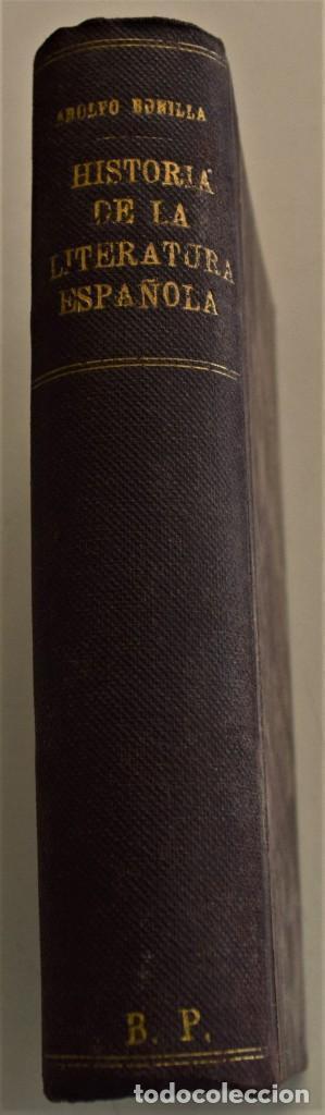 Libros antiguos: HISTORIA DE LA FILOSOFÍA ESPAÑOLA (SIGLOS VIII-XII: JUDÍOS) - ADOLFO BONILLA - MADRID 1911 - Foto 2 - 227754174