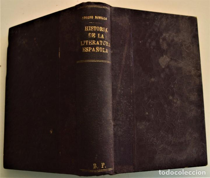 HISTORIA DE LA FILOSOFÍA ESPAÑOLA (SIGLOS VIII-XII: JUDÍOS) - ADOLFO BONILLA - MADRID 1911 (Libros Antiguos, Raros y Curiosos - Pensamiento - Filosofía)