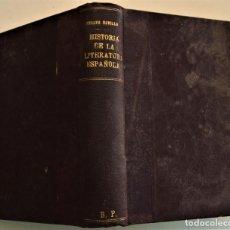 Libros antiguos: HISTORIA DE LA FILOSOFÍA ESPAÑOLA (SIGLOS VIII-XII: JUDÍOS) - ADOLFO BONILLA - MADRID 1911. Lote 227754174