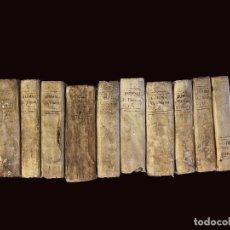 Libros antiguos: SUMMA TEOLÓGICA DE STO TOMÁS DE AQUINO, 1791 PERGAMINO,10 TOMOS, I, III , IV, V VII, VIII, IX, X, XI. Lote 230057255
