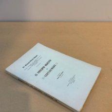 Libros antiguos: MANUEL HILARIO AYUSO / EL PRINCIPIO OBJETIVO DE CERTIDUMBRE / 1920. Lote 230251965