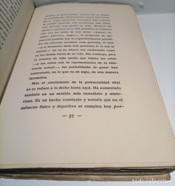 Libros antiguos: LA REBELION DE LAS MASAS - 1930 - JOSE ORTEGA Y GASSET - REVISTA DE OCCIDENTE - - Foto 5 - 231514290
