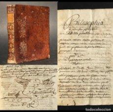Livros antigos: AÑO 1760 IMPORTANTE MANUSCRITO - 300 PAG. - FILOSOFIA - LOGICA - JOSEPHI ALBERT - LATIN. Lote 231581820