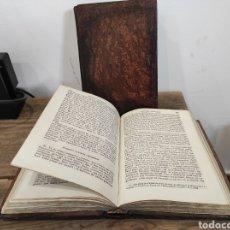 Libros antiguos: 1858-1861. INSTITUTIONES PHILOSOPHICAE EN LATIN MATTHAEI LIBERATORE. TOMO 1 Y 2.. Lote 231999600