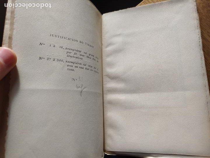 Libros antiguos: Very Rare. Les Reveries dun promeneur solitaire, Rousseau. Edition enrichie de trois portraits.1921 - Foto 12 - 232265210