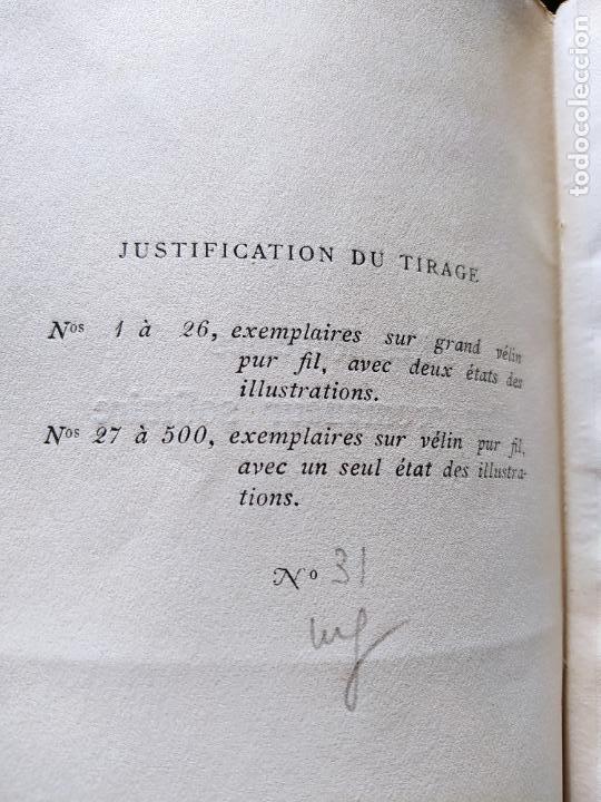 Libros antiguos: Very Rare. Les Reveries dun promeneur solitaire, Rousseau. Edition enrichie de trois portraits.1921 - Foto 13 - 232265210