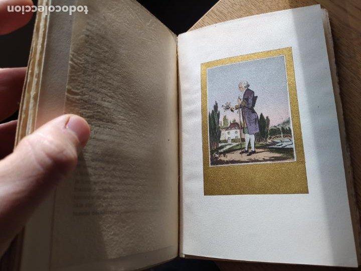 Libros antiguos: Very Rare. Les Reveries dun promeneur solitaire, Rousseau. Edition enrichie de trois portraits.1921 - Foto 18 - 232265210
