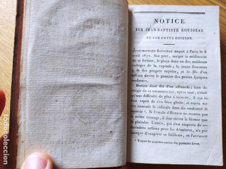 Libros antiguos: OEUVRES CHOISIES DE J. B. ROUSSEAU A L USAGE DES LYCEES, Publicado por MAME (1811) - Foto 10 - 232270360