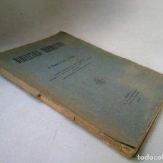 Libros antiguos: DIALÉCTICA NORMATIVA. PEDRO FONT. MURCIA, 1920. Lote 233457705