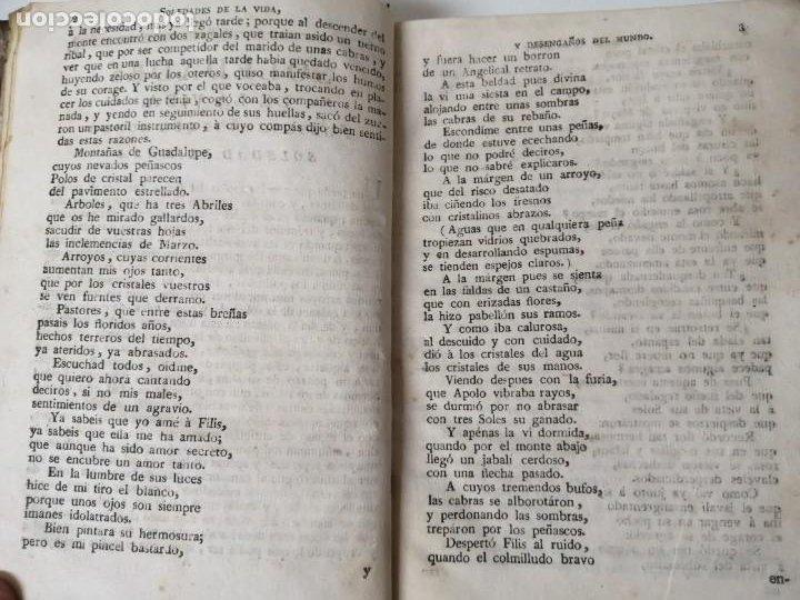 Libros antiguos: SOLEDADES DE LA VIDA Y DESENGAÑOS DEL MUNDO NOVELAS EXPEMPLARES 1792 - Foto 5 - 234444585
