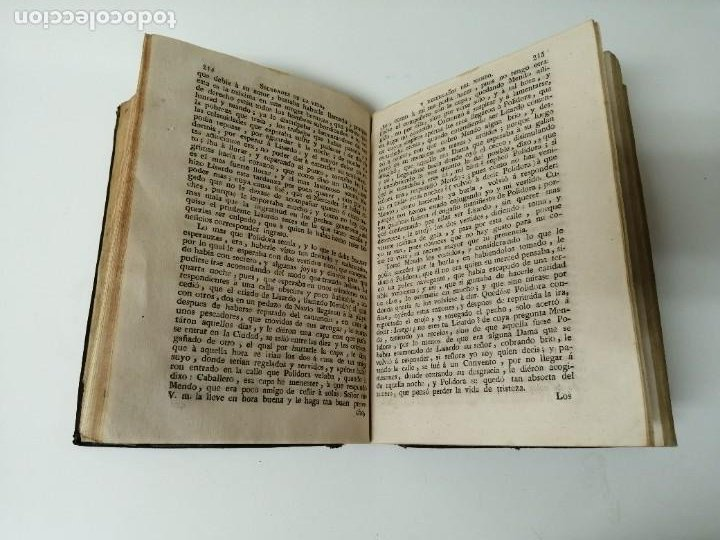 Libros antiguos: SOLEDADES DE LA VIDA Y DESENGAÑOS DEL MUNDO NOVELAS EXPEMPLARES 1792 - Foto 8 - 234444585