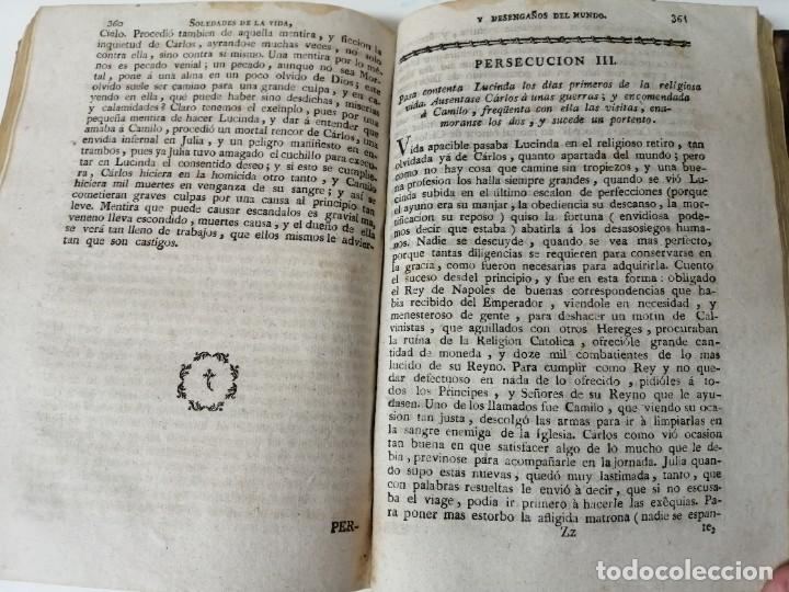 Libros antiguos: SOLEDADES DE LA VIDA Y DESENGAÑOS DEL MUNDO NOVELAS EXPEMPLARES 1792 - Foto 10 - 234444585