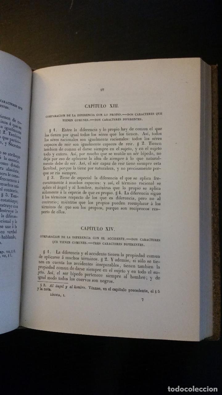 Libros antiguos: 1874 - ARISTÓTELES - OBRAS TRADUCIDAS POR PATRICIO DE AZCÁRATE: LÓGICA 4 TOMOS - Foto 6 - 234569045