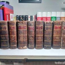 Libros antiguos: SUMMA TOTIUS THEOLOGIAE - S. THOMAE AQUINATIS - 1791 - PLENA PIEL CON TEJUELO Y DORADOS - 10 TOMOS. Lote 239739295