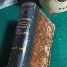 Libros antiguos: PHILOSOPHIAE. MENDIVE. 1887. Lote 240532015