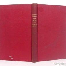 Livres anciens: 1925 - JAIME BALMES: CARTAS A UN ESCÉPTICO EN MATERIA DE RELIGIÓN - FILOSOFÍA, DISPUTAS RELIGIOSAS. Lote 241041560