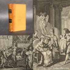 Livres anciens: 1823 - OBRAS DE ROUSSEAU - GRABADOS - HISTORIA DE TACITO - SENECA. Lote 241130085
