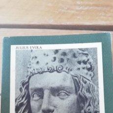 Libros antiguos: SINTESI DI DOTTRINA DELLA RAZZA EVOLA,JULIUS,PUBLICADO POR EDIZIONI DI AR, PADOVA (1978). Lote 241456685
