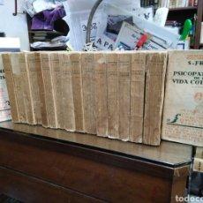 Libros antiguos: OBRAS COMPLETAS DEL PROFESOR S.FREUD-17 TOMOS-TRADUCCIÓN LUIS LÓPEZ BALLESTEROS Y TORRES-AÑO 1934. Lote 243833565