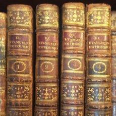 Libros antiguos: EL EVANGELIO EN TRIUMFO, VALENCIA 1797, 4 VOLS.. Lote 244864565