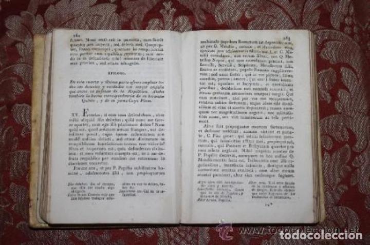 Libros antiguos: CICERONIS ORATIONES SELECTAE. M. TULLII. PARS PRIMA. BARCINONE. 1820 - Foto 3 - 245781185