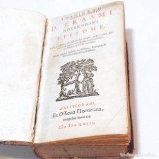 Libros antiguos: ADAGIORUM D. ERASMI ROTERODAMI EPITOME. EDITIO NOVISSIMA. AMSTELODAMI. EX OFFICINA ELZEVIRIANA. 1663. Lote 247685335
