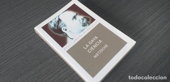 Libros antiguos: *** libro - LA GAYA CIENCIA . Nietzsche Friedrich ** Filosofia. Akal. - Foto 2 - 249370500