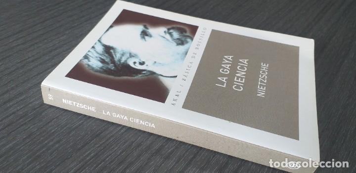 Libros antiguos: *** libro - LA GAYA CIENCIA . Nietzsche Friedrich ** Filosofia. Akal. - Foto 5 - 249370500