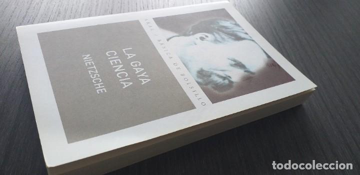 Libros antiguos: *** libro - LA GAYA CIENCIA . Nietzsche Friedrich ** Filosofia. Akal. - Foto 7 - 249370500