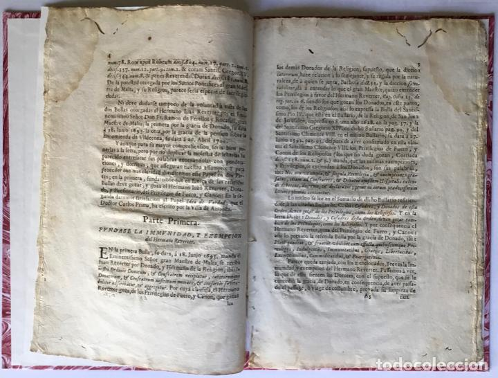 Libros antiguos: VERDAD DE LA IDEA, CONTRA LA IDEA DE LA VERDAD. IMMUNIDAD DEFENDIDA, POR EL HERMANO JUAN REVERTER... - Foto 2 - 250141965