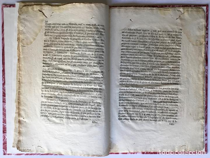Libros antiguos: VERDAD DE LA IDEA, CONTRA LA IDEA DE LA VERDAD. IMMUNIDAD DEFENDIDA, POR EL HERMANO JUAN REVERTER... - Foto 4 - 250141965