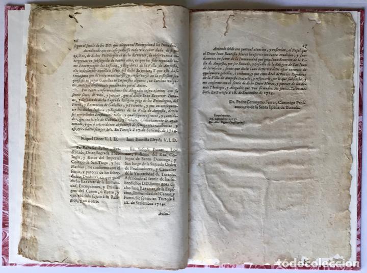 Libros antiguos: VERDAD DE LA IDEA, CONTRA LA IDEA DE LA VERDAD. IMMUNIDAD DEFENDIDA, POR EL HERMANO JUAN REVERTER... - Foto 5 - 250141965