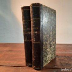Libros antiguos: FILOSOFIA ELEMENTAL, COMPLETA 2 TOMOS - ZEFERINO GONZALEZ - 1881, 3ª EDICION, MADRID. Lote 262396950