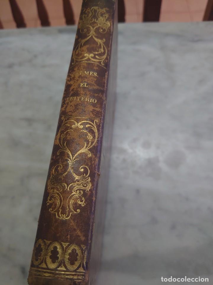 PRPM 60 1851 - EL CRITERIO, POR DON JAIME BALMES (Libros Antiguos, Raros y Curiosos - Pensamiento - Filosofía)