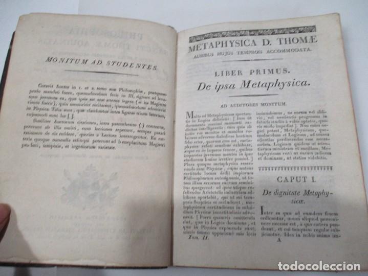 Libros antiguos: SANCTI THOME AQUINATIS Philisophia (Tomo II )(En latín) W6822 - Foto 3 - 259250935