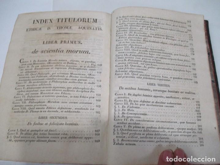 Libros antiguos: SANCTI THOME AQUINATIS Philisophia (Tomo II )(En latín) W6822 - Foto 4 - 259250935
