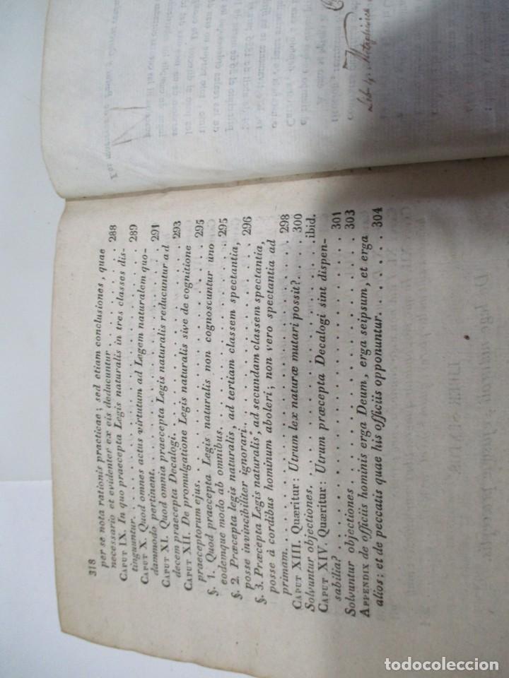 Libros antiguos: SANCTI THOME AQUINATIS Philisophia (Tomo II )(En latín) W6822 - Foto 6 - 259250935