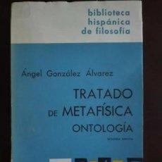 Libros antiguos: TRATADO DE METAFÍSICA. Lote 262547605