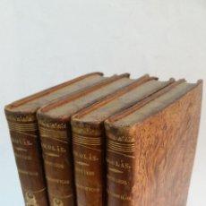 Libros antiguos: 1851 - AUGUSTO NICOLÁS - ESTUDIOS FILOSÓFICOS SOBRE EL CRISTIANISMO - 4 TOMOS (OBRA COMPLETA). Lote 262622640